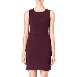 Diane Von Furstenberg Brazen Plum Sheath Dress 0